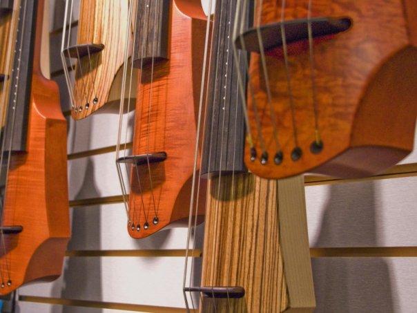 NS Design electric cellos at Electric Violin Shop