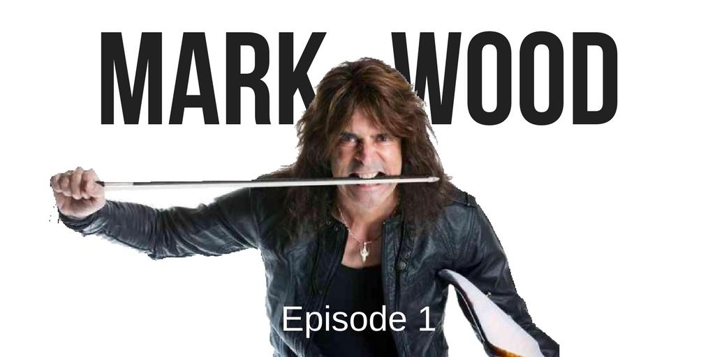 Rockstar Violinist podcast episode 1: Mark Wood interview